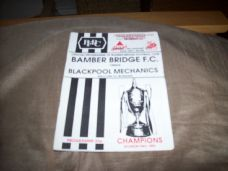 Bamber Bridge v Blackpool Mechanics, 1992/93 [TFT]